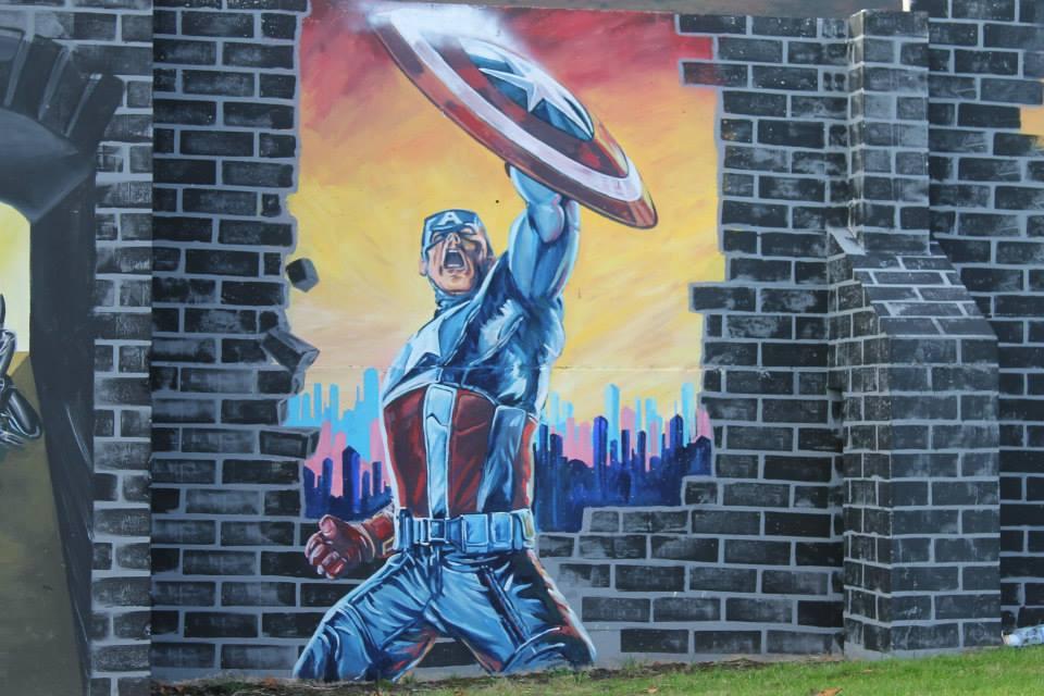 Heroes Murals