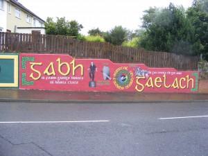 Mural A mag ghagh gaealic