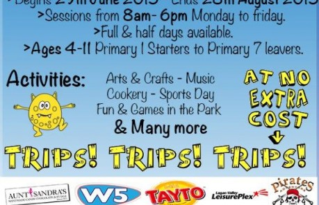 Little Monsters Summer Scheme at Ardmonagh Family Centre